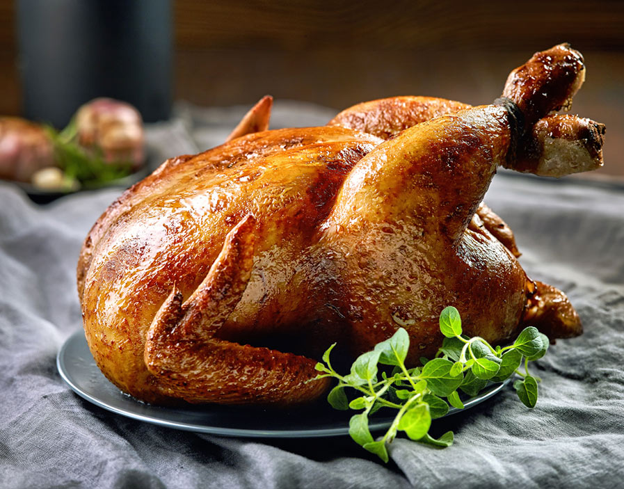 Herbed Roasted Chicken