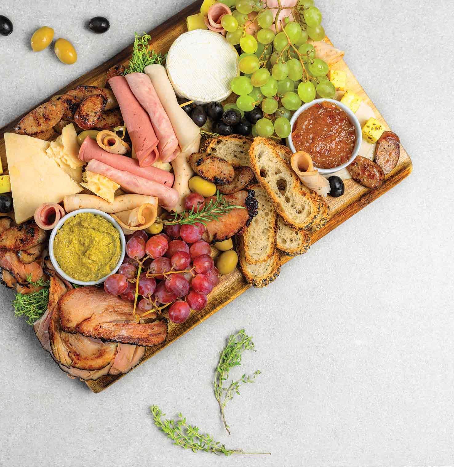 Deli Slices & Cheese Platter